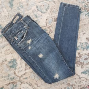 Adriano Goldschmied The Nikki Distressed Jeans